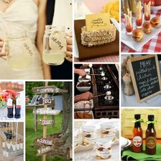 Rustic BBQ Wedding