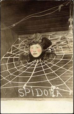 Sideshow World, Freak Central, Sideshow  Spidora...this would be a great CarvEvil display.