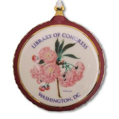 Our Library of Congress exclusive porcelain ornament is adapted from a Kokichi Tsunoi drawing. Tsunoi's original drawing resides in our Asian Division's Japanes
