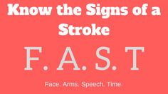 Health Tips: Warning Signs of a Stroke