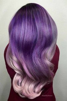 Shining Purple Hair picture1