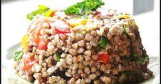 Pohankový salát s pečenou zeleninou a rukolou Doba přípravy 40min Tento výborný salát se počítá do skupiny nejoblíbenějších pokrmů...