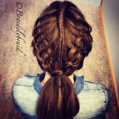 Cobra Stich and fishtail. Instagram photo by @braidelybraid (Sara :) Swedish Braid lover) | Iconosquare