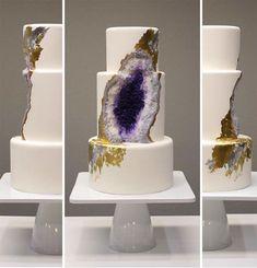 Mirror Marble Cakes | Neato: Mirror Marble Cakes With Shiny Reflective Glaze | Geekologie