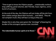Pray for Philippines and the Filipino families whose lives were shattered by Typhoon Haiyan.