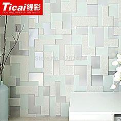 Aliexpress.com : Zeitgenössische Umwelt 3d Tv Einstellung Wand Leder  Beflockung Wohnzimmer/Schlafzimmer Tapete