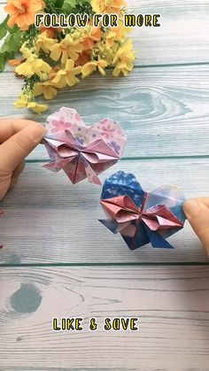 Cool Paper Crafts, Fun Crafts To Do, Paper Crafts Origami, Crafts For Kids, Instruções Origami, Origami Videos, Origami Folding, Diy Projects Arts And Crafts, Diy Crafts Hacks