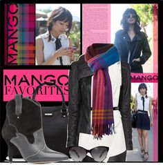 """""""Contest Entry Winter Aesthetic with Mango and That's Chic"""" by nancy-ellyn ❤ liked on Polyvore"""