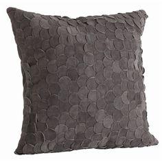 Suede Pillow   Jen Going Interiors