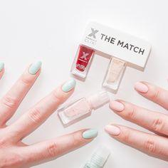 A match made in mani heaven. Find your perfect polish match>