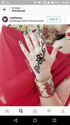 Henna Designs For Kids, Finger Henna Designs, Beautiful Henna Designs, Best Mehndi Designs, Henna Tattoo Designs, Mehendi, Mehandi Henna, Henna Tattoo Hand, Henna Body Art