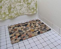 What a great alternative to a normal bath mat.