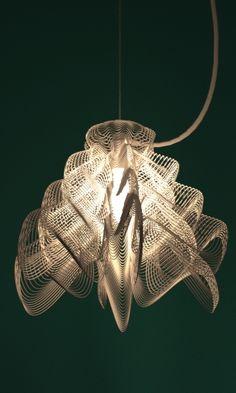 lampshade 3d print by studioluminaire #3dPrintedLightning