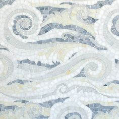 Tempest Sea Glassô mosaic by New Ravenna