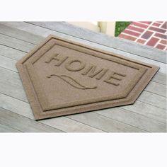 Home Plate door mat | Brookstone  LOVE IT!!!!