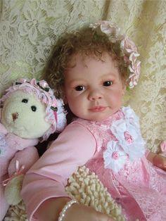 Лолочка, Лолита! Нежная, кареглазая малышка. Молд Camille скульптора Ann Timmerman. Цена снижена! / Куклы реборн / Шопик. Продать купить куклу / Бэйбики. Куклы фото. Одежда для кукол
