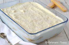 Semifreddo paradiso Ricotta, Cold Desserts, Vanilla Cake, Latte, Cakes, Cream, Kitchens, Cake Makers, Kuchen