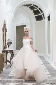 House of Mooshki Fall 2014 Wedding Dresses | Wedding Inspirasi
