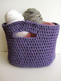 Crochet Basket: Free Crochet Pattern - Crochet Free