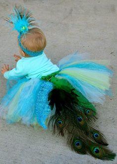 peacock costume   Peacock tutu Halloween costume   Craft Ideas