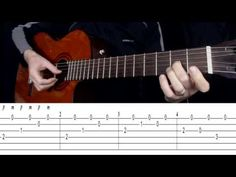 Malaguena (Beginners Guitar Lesson - Pt 1) by Gordon Leary - YouTube