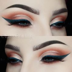 Warm Half Cut Crease by Easy Golding (@easygolding) -> Instagram Brows: @anastasiabeverlyhills #dipbrowpomade in Chocolate Eyes: @anastasiabeverlyhills Single Eyeshadows in Birkin, Blazing, Red Earth & Pink Champagne Liner: @colourpopcosmetics Fast Lane Gel Liner Lashes: @hellagoodlashes Partyart Brushes: @sigmabeauty @zoevacosmetics #cutcreasenatural