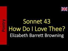 Poetry in English - Sanderlei Silveira: Sonnet 43 - How Do I Love Thee?