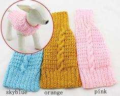 Aliexpress: Popular ropa tejida para perros enabrigo para perros ...