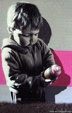 Street art in Berlin, near Holocaust Memorial Graffiti by SmogOne banksy Street Art melancholy angel, Cambridge 3d Street Art, Murals Street Art, Street Art Utopia, Urban Street Art, Best Street Art, Amazing Street Art, Street Art Graffiti, Street Artists, Urban Art