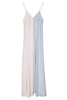 Patel pink&gray maxi dress