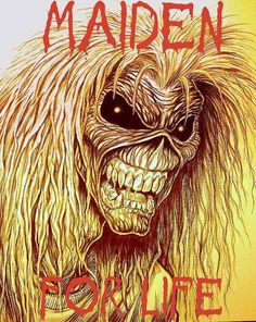 ☮ American Hippie Rock Metal Music ~ Iron Maiden