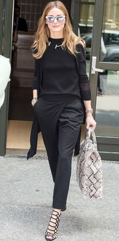 - Olivia Palermo  In New York City - June 03, 2015 perfecting corporate chic