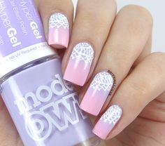 Brit Nails: Gradient and Lace with Nails Supreme Nail Art Pens