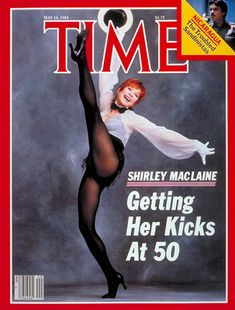 Shirley MacLaine at 50 :) (at any age. Time Vault, Lauren Ambrose, Something In The Way, Shirley Maclaine, Time Magazine, Magazine Covers, Academy Award Winners, Jennifer Connelly, News Website