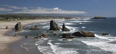 The beach at Bandon, Oregon - one of the most beautiful places, ever.