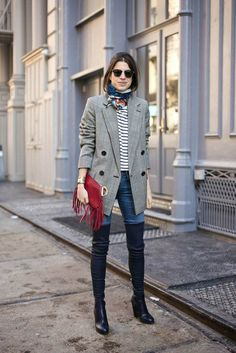 Leandra Medine Man Repeller F/W 2014 New York Fashion Week Looks Street Style, Autumn Street Style, Fashion Mode, Look Fashion, City Fashion, Fashion Trends, Milan Fashion, Fashion Bloggers, Fashion Styles