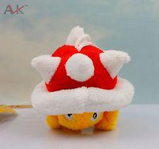 1pcs Super Mario Bros Plush Spiny Koopa Soft Stuffed Animal Doll Figure Toy 5cm