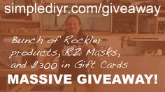 Enter to win DIY products and gift cards from simplediyr!