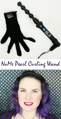 NuMe Pearl Curling Wand gives you the perfect messy beachy waves with minimal effort. Love it!