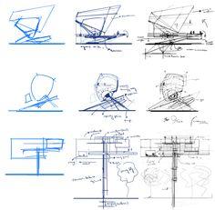 Perspective Tutorial Architecture No. 3 // Alex Kaiser //2011 // Digital/Mixed