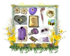 """""""*Flowers & Blooms*"""" by sylvia-cameojewels ❤ liked on Polyvore featuring Cadeau, The French Bee and NDI"""