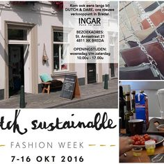 The Dutch Sustainable Fashion Week is about to start and INGAR together with @dutchanddare + @nelia_bags_things + www.olijfolie-extra.com are ready to start this week! Drop by and meet us coming Friday and Saturday afternoon. #events #evenement #dsfw #olijfolie #tas #dagjeuit #moederdochter #vriendinnen #shopping #shoponline  #fairfashion #mooi #wearasmile #bethechange #ilovebreda #komlangs #meetthemakers #deel #bericht #shoplokal Sustainable Fashion, Sustainability, How To Wear, Shopping, Sustainable Development