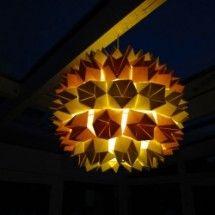 Origami Hanging Lamp