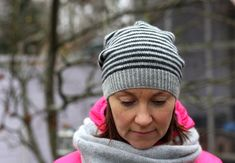 Ravelry: Raituli pattern by Marja Suomela slouchy for Sammie Ravelry, Headbands, Knitted Hats, Winter Hats, Beanie, Knitting, Pattern, Bricolage, Head Bands