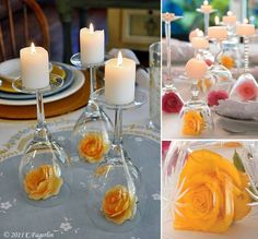 Nice and simple wedding decoration! ;)
