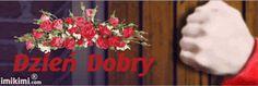 Wiersze,Gify Na Dzień Dobry ...: Gify na dzien dobry - kwiaty 4th Of July Wreath, Wreaths, Door Wreaths, Deco Mesh Wreaths, Floral Arrangements, Garlands, Floral Wreath, Garland