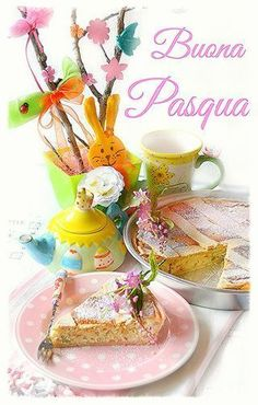 dolci a go go! Easter Wishes, Faith Prayer, Vintage Easter, Happy Easter, Holiday, Christmas, Diy Crafts, Table Decorations, Sweet