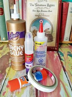 When making junk journals there are different adhesives that work best on different parts of the journal.