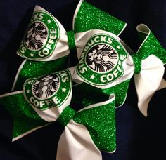 Hey, I found this really awesome Etsy listing at http://www.etsy.com/listing/173487017/starbucks-inspired-3inch-cheer-bow