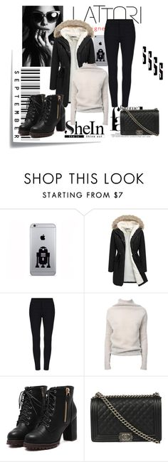 """""""Untitled #8"""" by omer-salkanovic ❤ liked on Polyvore featuring Post-It, Rick Owens, Chanel, Lattori, women's clothing, women's fashion, women, female, woman and misses"""